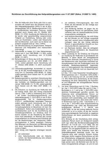 Richtlinien zur Durchführung des ... - Lahn-Dill-Kreis