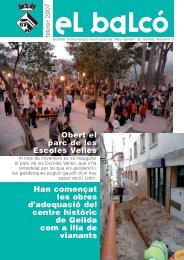 16 BALCO DE GELIDA 5.indd - Ajuntament de Gelida