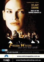 FreeDom WriTers - Metro Magazine
