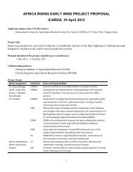 General Information: - International Livestock Research Institute (ILRI)
