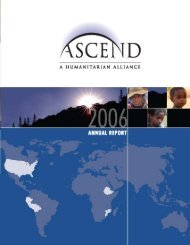 Annual Report - Ascend Alliance