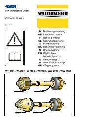D Bedienungsanleitung GB Instruction manual F Notice d'emploi NL ...