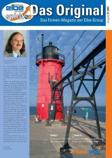 Ausgabe 01/2007: Meilensteine von 1959 – 1969: Elbe