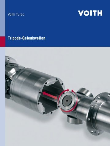 Tripode-Gelenkwellen - Voith Turbo