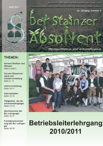 AV Zeitung April 2011_Layout 1 - LFS Stainz