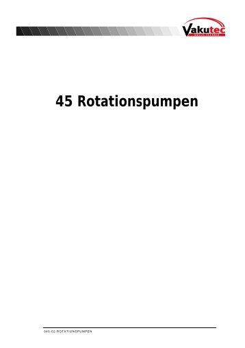45 Rotationspumpen