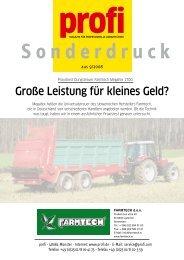 Sonderdruck Profi-Magazin - Buchmann Technik AG