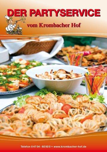 DER PARTYSERVICE - Krombacher Hof