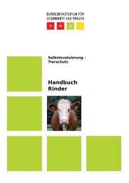 Handbuch Rinder (pdf, 626 KB) - Bundesministerium für Gesundheit