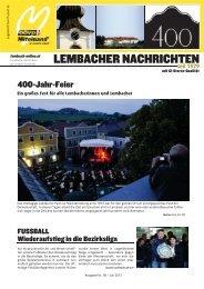 Lembacher Nachrichten Juli 2012 (28 MB | pdf)