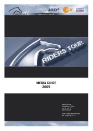 MEDIA GUIDE 2005 - Riders Tour