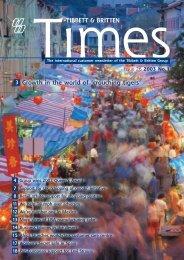 Tibbett & Britten Times #26 - Hayes Anderson Limited