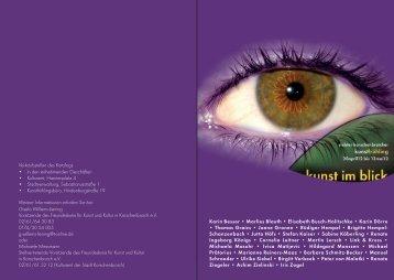 Kunstfrühling 2012_Programm DIN A5_27032012.indd - Jutta Höfs