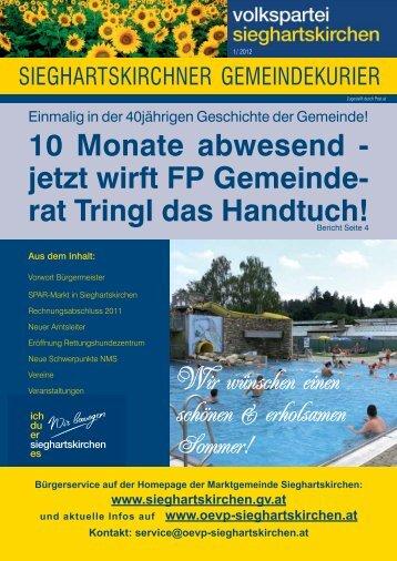 Ausgabe 1/2012 - ÖVP Sieghartskirchen