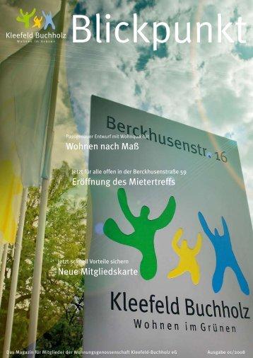 Blickpunkt - Wohnungsgenossenschaft Kleefeld-Buchholz eG