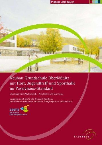 Broschüre Grundschule Oberlößnitz - Radebeul