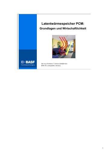 Latentwärmespeicher PCM: Grundlagen und Wirtschaftlichkeit