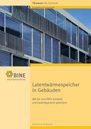 Latentwärmespeicher in Gebäuden - IHK Schleswig-Holstein