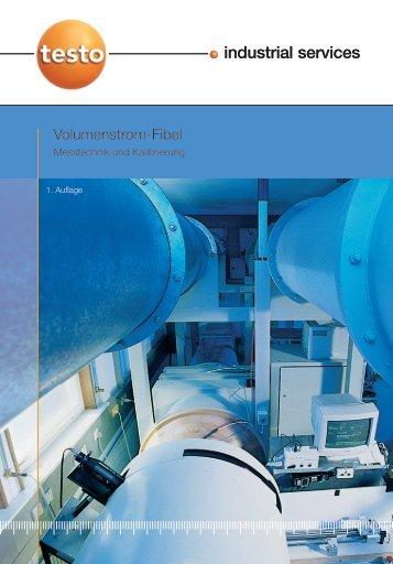 Kalibrierfibel Volumenstrom - Testo Industrial Services GmbH