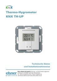 Datenblatt KNX TH-UP