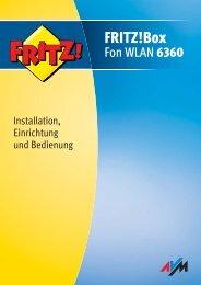Handbuch FRITZ!Box Fon WLAN 6360 - Unitymedia