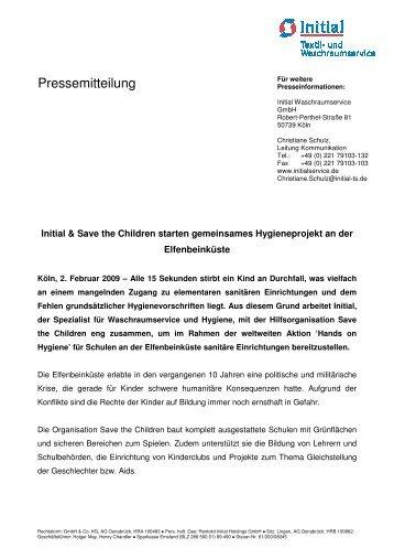 Initial PressetextHygieneprojekt Elfenbeink-374ste D - Initial Textil