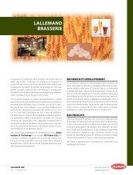 LALLEMAND BRASSERIE