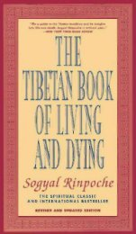The Tibetan Book of Living and Dying - Sun Gazing