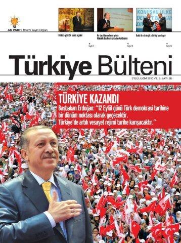 tb eylul ekım - Türkiye Bülteni