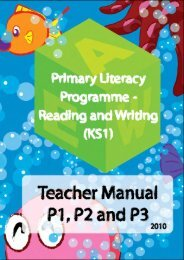 Primary Literacy Programme – Reading and Writing (KS1)