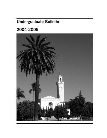 Loyola Marymount University Common University Core Ge