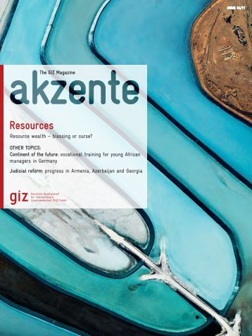 Complete issue (pdf, 7520.08 MB, EN) - GIZ