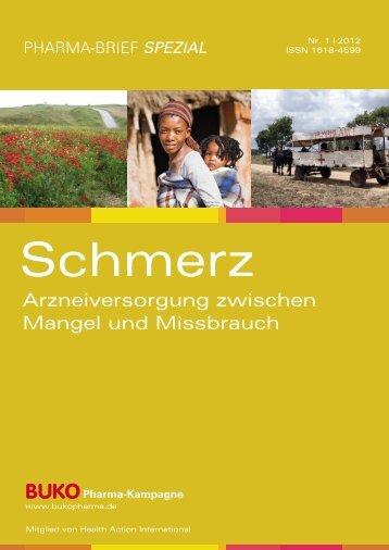 Arzneiversorgung zwischen Mangel und ... - Pillen-Checker.de