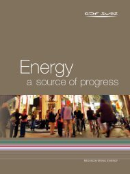 a source of progress - GDF SUEZ Global Energy
