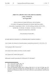 30.4.2004 IT Gazetta ufficiale dell'Unione europea L 158/ - EUR-Lex