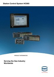 Station Control System HC900 Serving the gas industry worldwide