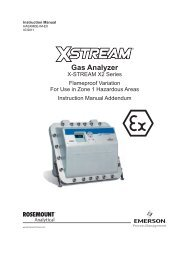 Gas Analyzer - Emerson Process Management