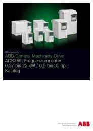 ACS355 07/11 PDF, 332.3 KB - Max Lamb GmbH & Co. KG