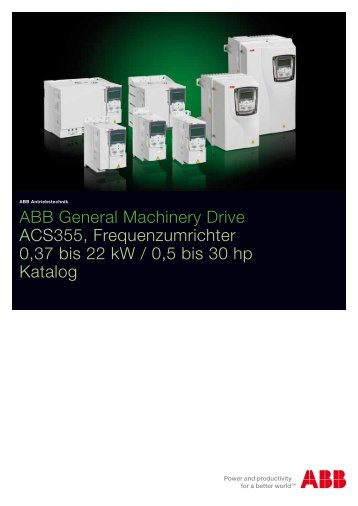 ACS355 07/11 PDF, 332.3 KB - Max Lamb GmbH & Co. KG