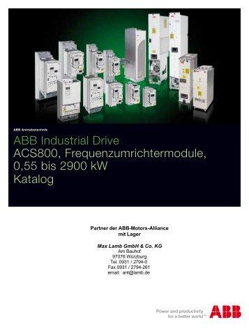 Katalog ABB - ACS800 Einbaumodule 11/09 PDF, 938.7