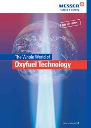 The whole world of oxyfuel technology