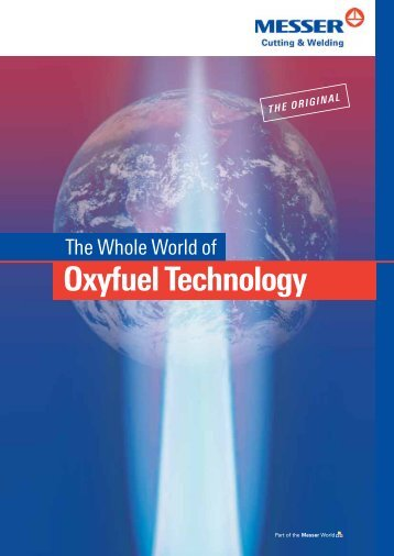 The whole world of oxyfuel technology