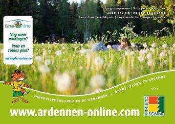 Vakantieparken - Ardennen Online