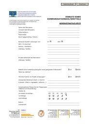 Onlineformular Erstabklärung Unterstützte Kommunikation