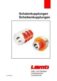 Schalenkupplungen Scheibenkupplungen - Max Lamb GmbH & Co ...