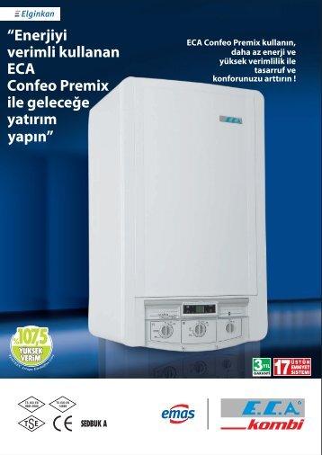 E.C.A Confeo Premix Ürün Kataloğu
