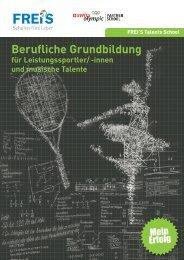 Talents School - FREI'S Schulen AG Luzern