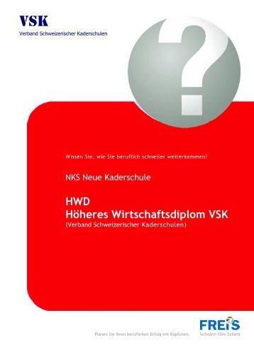 HWD-Höheres Wirtschaftsdiplom VSK
