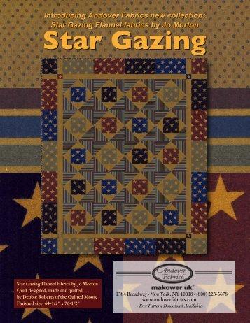 Star Gazing Flannel-1