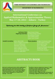 ABSTRACTS BOOK - AMAT 2012 Conference